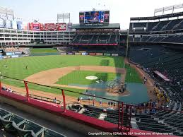 Ballpark At Arlington Seating Chart Globe Life Park In Arlington View From Lexus Club Infield