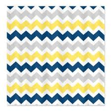 get ations cafepress yellow blue grey chevron stripes shower curtain standard white