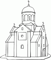 Small Picture Printable Church Coloring Pages Coloring Home