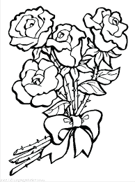Coloring Picture Of A Flower Flower Pictures Coloring Pages Flower