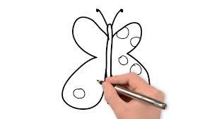 Dessin Papillon En 50s Comment Dessiner Un Papillon Facile Pour