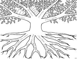 Tree Coloring Pages - coloringsuite.com