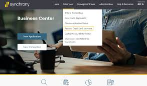 Request A Credit Limit Increase Business Center Training