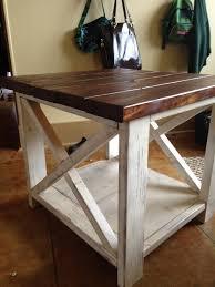 diy rustic furniture. The Rustic X Side Table Diy Furniture U