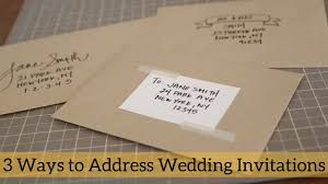 Wedding Invitation Address Labels Uk