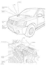 I have a nissan titan my power mirrors and seat here is drawing showing the underhood