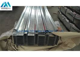 anti corrosion galvanised corrugated steel roofing sheets sgcc sgch shockproof