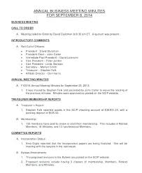 Annual Board Of Rectors Meeting Minutes Template Corporate