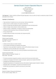 It Support Specialist Resume Bestresume Com