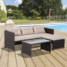 sofa white outdoor sectional furniture lawn table and chairs indoor outdoor chairs rattan furniture metal