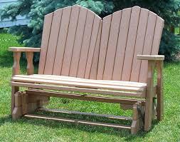 outdoor glider rocker. Outdoor Glider Rocking Chair Mission Rocker Set Poly Furniture Bench Plans