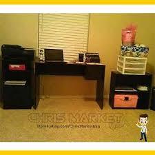 mainstays 3 piece home office bundle black. 3 of 4 home office student desk mainstays 3piece set computer furniture black piece bundle c