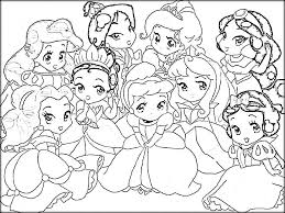Small Picture Princess Coloring Pages Pdf Coloring Pages