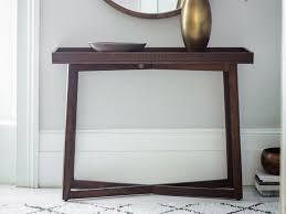 gallery direct contemporary boho retreat solid wood console table