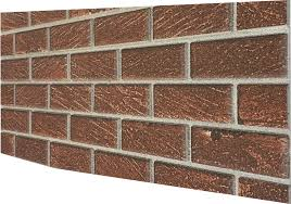 dark brown old brick wall panel dl07