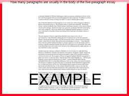 how many paragraphs are usually in the body of the five paragraph  how many paragraphs are usually in the body of the five paragraph essay the