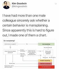 Mansplaining Chart Mansplaining Chart This Is What A Feminist Looks Like