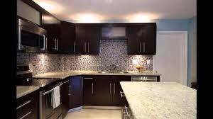 Kitchen : Amazing Black And White Kitchen Floor Dark Wood Cabinets ...