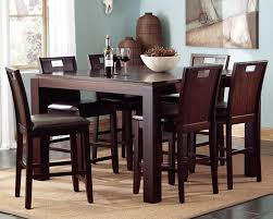 correct height of a dining room table. image of: prewitt contemporary 7 piece counter height dining set correct of a room table e