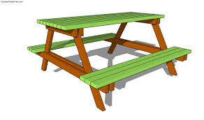 Free Picnic Table Designs Picnic Table Plans Free Free Garden Plans How To Build