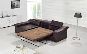 leather sofa bed with chaise sectional leather sofa bed sectional couch with pull out