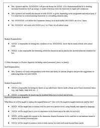 behavior intervention plan template behavior intervention plan inclusive classrooms project