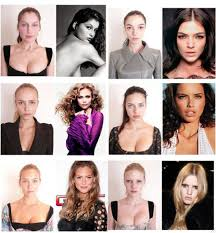 never feel ugly when looking at pictures of models this is what they really look like without makeup or photo