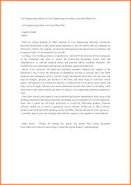 4 Application Letter Of Civil Engineer Bussines Proposal 2017