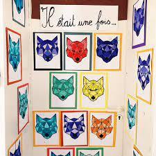 Parcourez notre sélection de art plastique : Le Loup La Symetrie Maitresse De La Foret