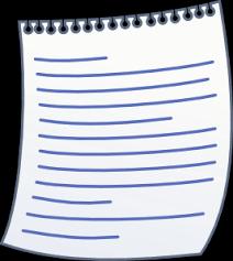 paper writing clip art at com vector clip art online  paper writing clip art