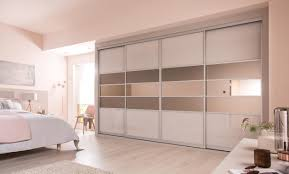 sliding wardrobe doors uk. Simple Doors Cashmere U0026 Satin Bronze Glass With Mirror On Sliding Wardrobe Doors Uk L
