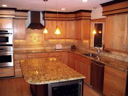 Attractive Santa Cecelia Granite Kitchen Countertop Finished Installed Granix 2  OLYMPUS DIGITAL CAMERA ...