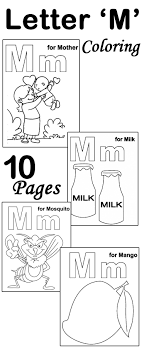 Top 10 Free Printable Letter M