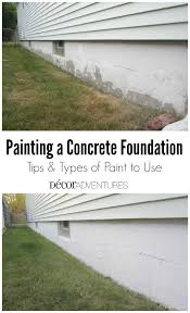 painting a foundation on your home house painting exteriorexterior concrete