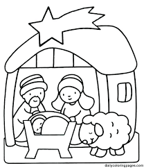 Christmas Colouring Pages For Kindergarten Coloring Pages Free
