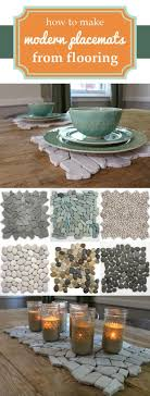 How to Turn Flooring into Modern Place Mats Home
