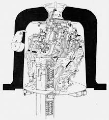 artillery weapons and warfare page  diagram of german m19 5cm automatic mortar as sited in the channel islands and at points on the atlantic wall