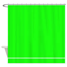 neon green shower curtain decorative fabric shower curtain for the bathroom with 12 hooks in shower curtains from home garden on aliexpress com alibaba