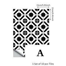 home garden pvc tile stickers