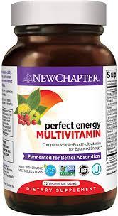 New Chapter Energy Supplement - <b>Perfect</b> Energy <b>Multivitamin</b>