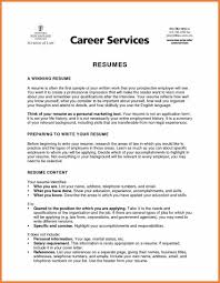 Resume Sample Objectives Sop Proposal