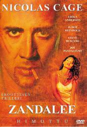 DVD arvostelu kansi. Zandalee - himottu Zandalee. Pääosissa mm. Judge Reinhold, Erika Anderson ja Nicolas Cage - 18781478025c1ac77a7.1883256