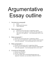 arumentative essay argumentative essay notes