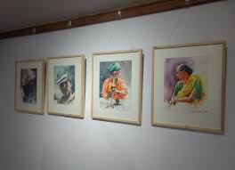 it was mob members idea to turn the abandoned toilet into an art gallery for this we renovated the old building at a cost of rs 2 5 lakh said c ravi
