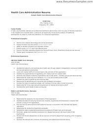 Examples Of Healthcare Resumes Impressive Examples Of Objectives For Resumes In Healthcare Health Care Aide