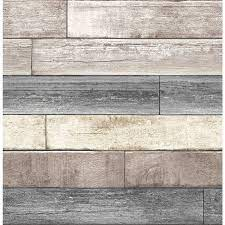 Reclaimed wood wallpaper ...
