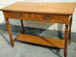antique hall table. Antique Oak Writing Desk Hall Table S