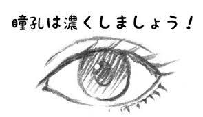 目の描き方がわからない① 漫画の描き方qaあなたの疑問