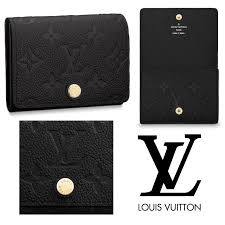 monogram leather card holders monogram empreinte 2018 19aw