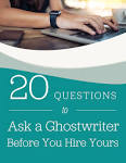 Hire a ghostwriter to write your book